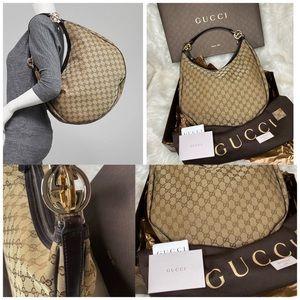 Large big size💯 Authentic Gucci  Monogram …